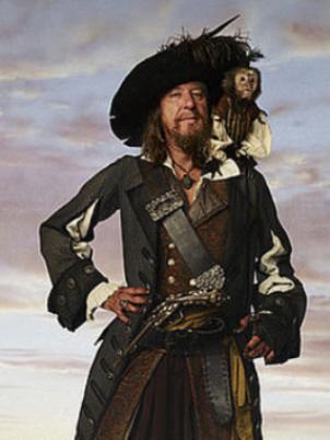 barbossa pirate costume