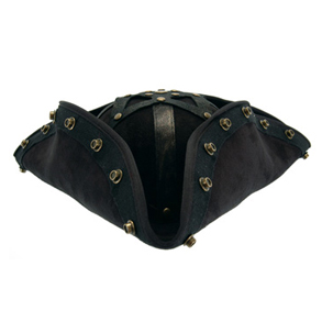 blackbeard costume hat