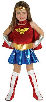 Wonder Women little girl costume