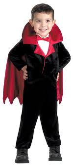 costume of vampire for kids