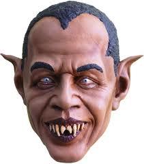 obama vampire mask