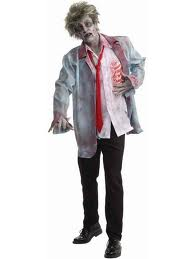 costume of generic zombie