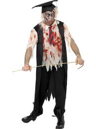 costume of a zombie student
