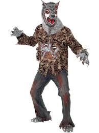costume of a zombie werewolf
