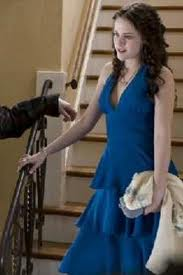 bella swan blue dress