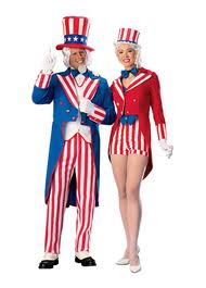 uncle sam couple costume