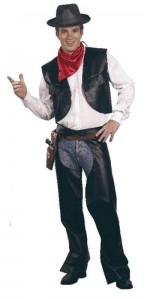 jesse james wild west costume