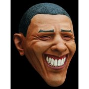obama smiling mask