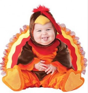 turkey costume for baby