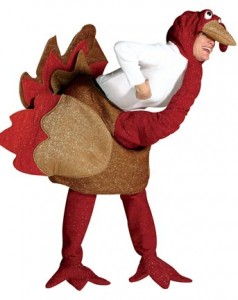 be a turkey for halloween