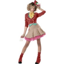 girl mad hatter costume