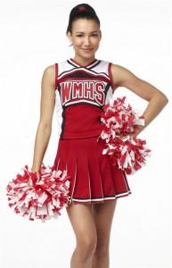 glee cheerleader