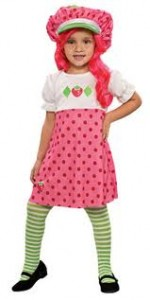strawberry shortcake toddler costume