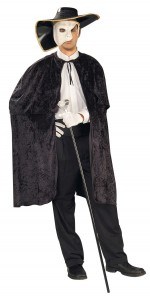 phantom of the opera costume you can make at home