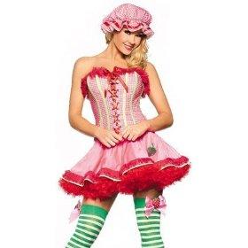 strawberries costume