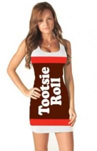 tootsie roll dress