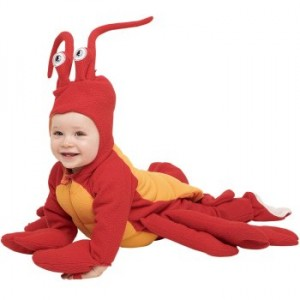 baby crustacean halloween costume