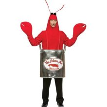 lobster in kettle outfit
