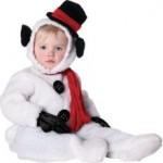 kid snowman costume