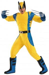 adult wolverine costume