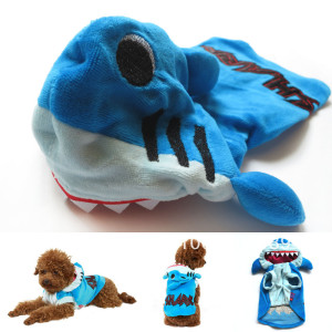 dog shark costume buy