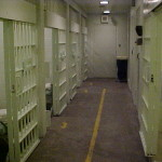 inside jail cell