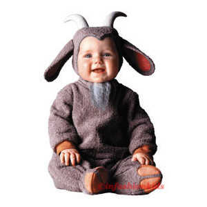 baby goat costume