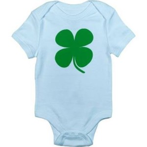 baby four leave clover good luck costume