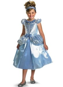 cinderella costume kid