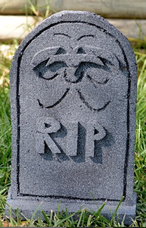 bat tombstone