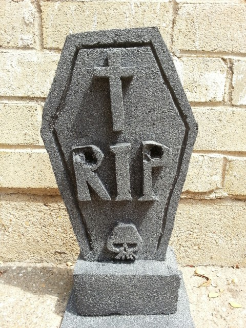 tombstone RIP