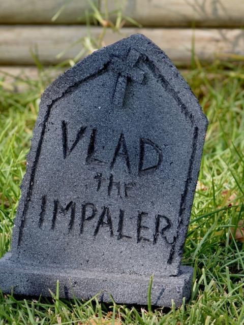 vampire tombstone